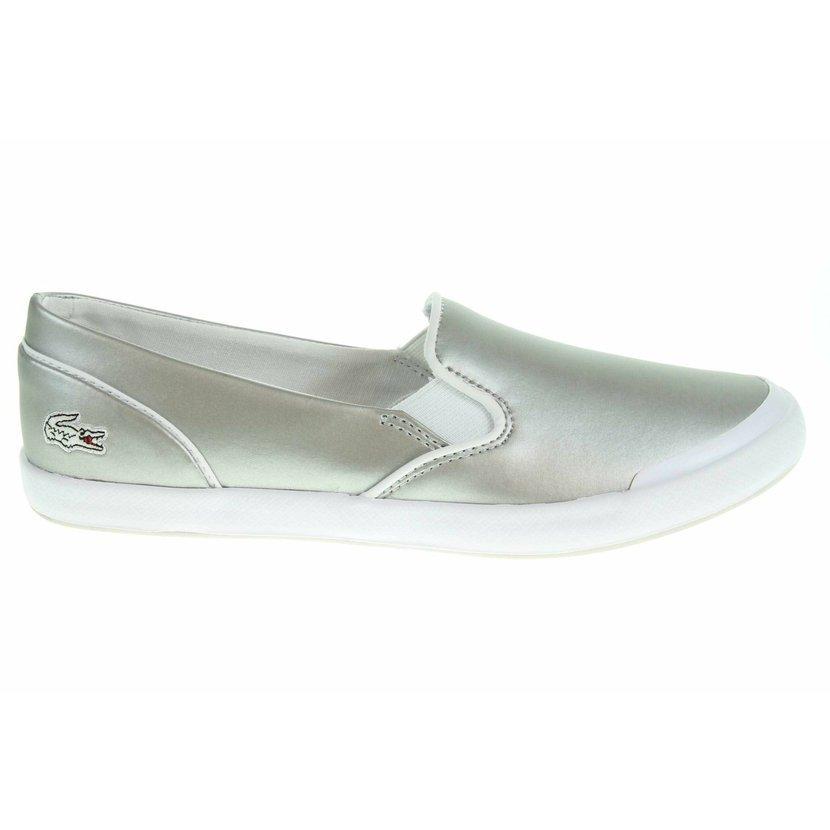 506bc1ca2d Lacoste Lancelle Slip-On dámská obuv stříbrná