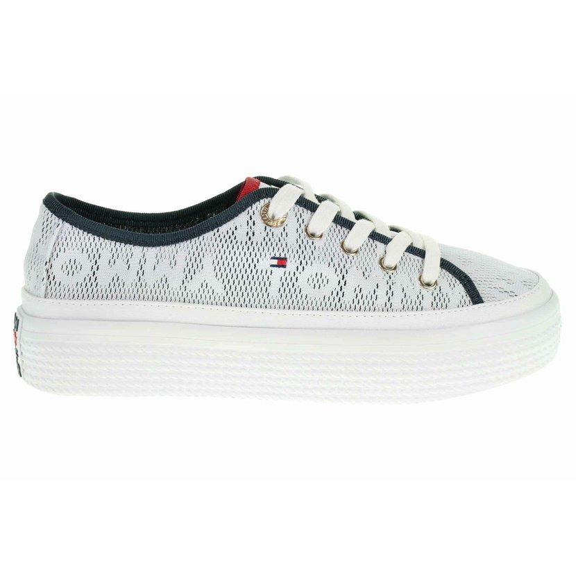 cfbb6a260 Tommy Hilfiger dámská obuv FW0FW04071 100 white velikost 40